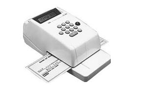 MAX EC-30A Check Writer