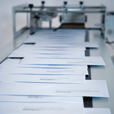Neopost envelope printing equipment