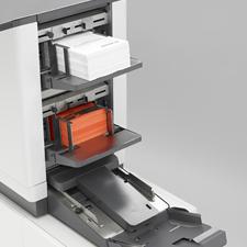 Neopost paper folder inserter, folding inserting machine